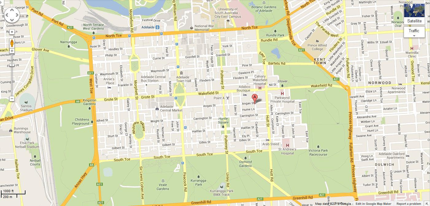 Australia Street Map – Australia Street Map