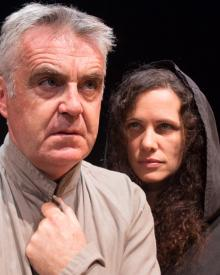 Tim Marriott and Melanie Munt in Mengele